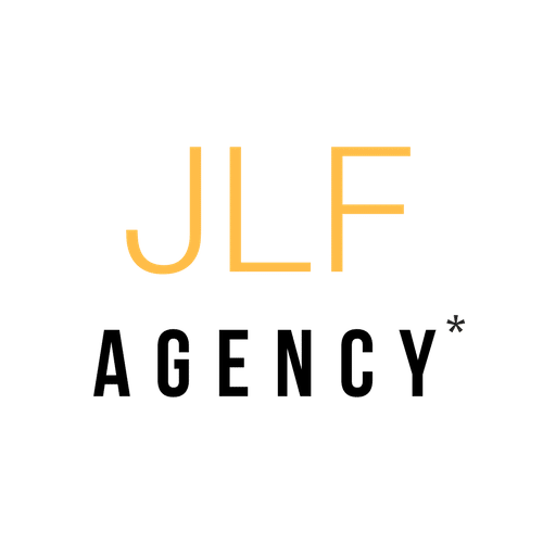 Logo JLF AGENCY, agence de communication responsable à 360°