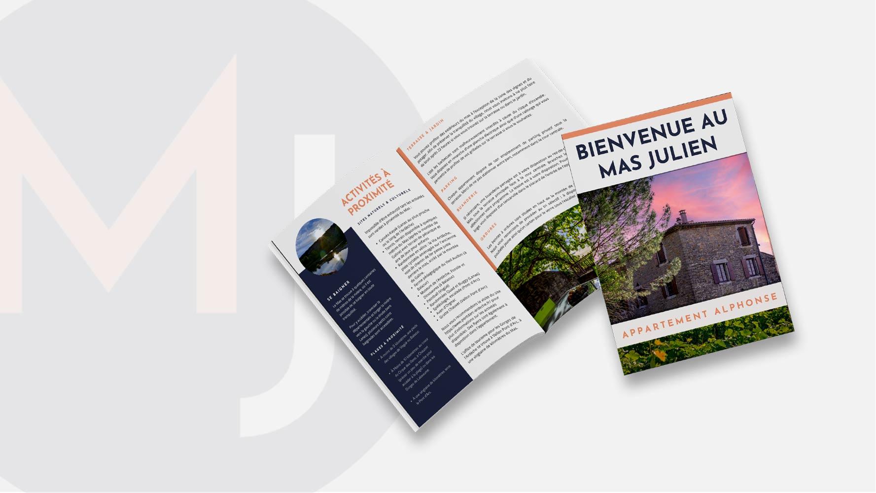 Brochure Mas Julien par JLF Agency